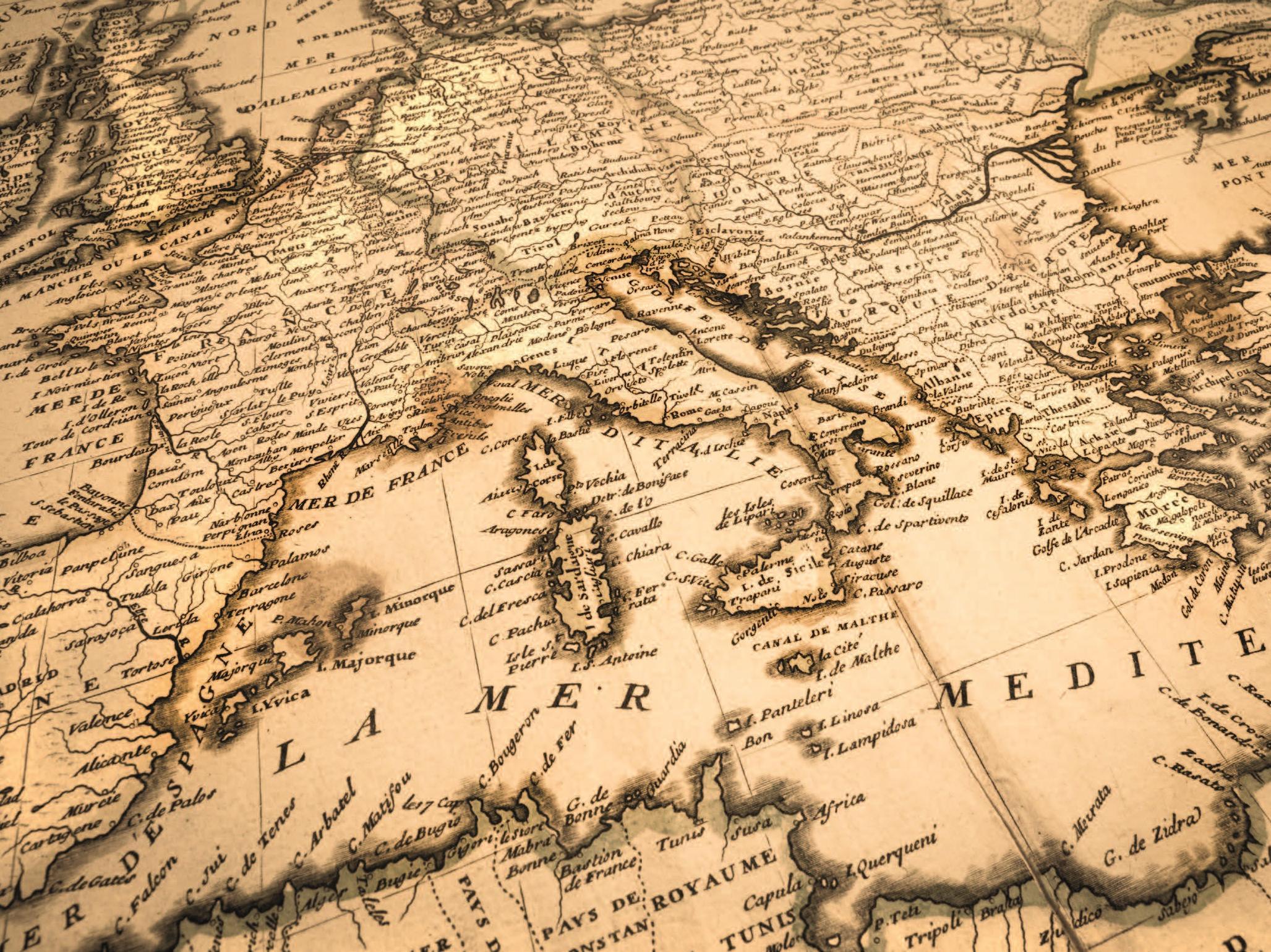 Illustration axe Aléas et risques naturels et anthropiques en région Méditerranée