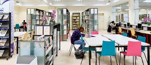 bibliothèque henri bosco du campus carlone