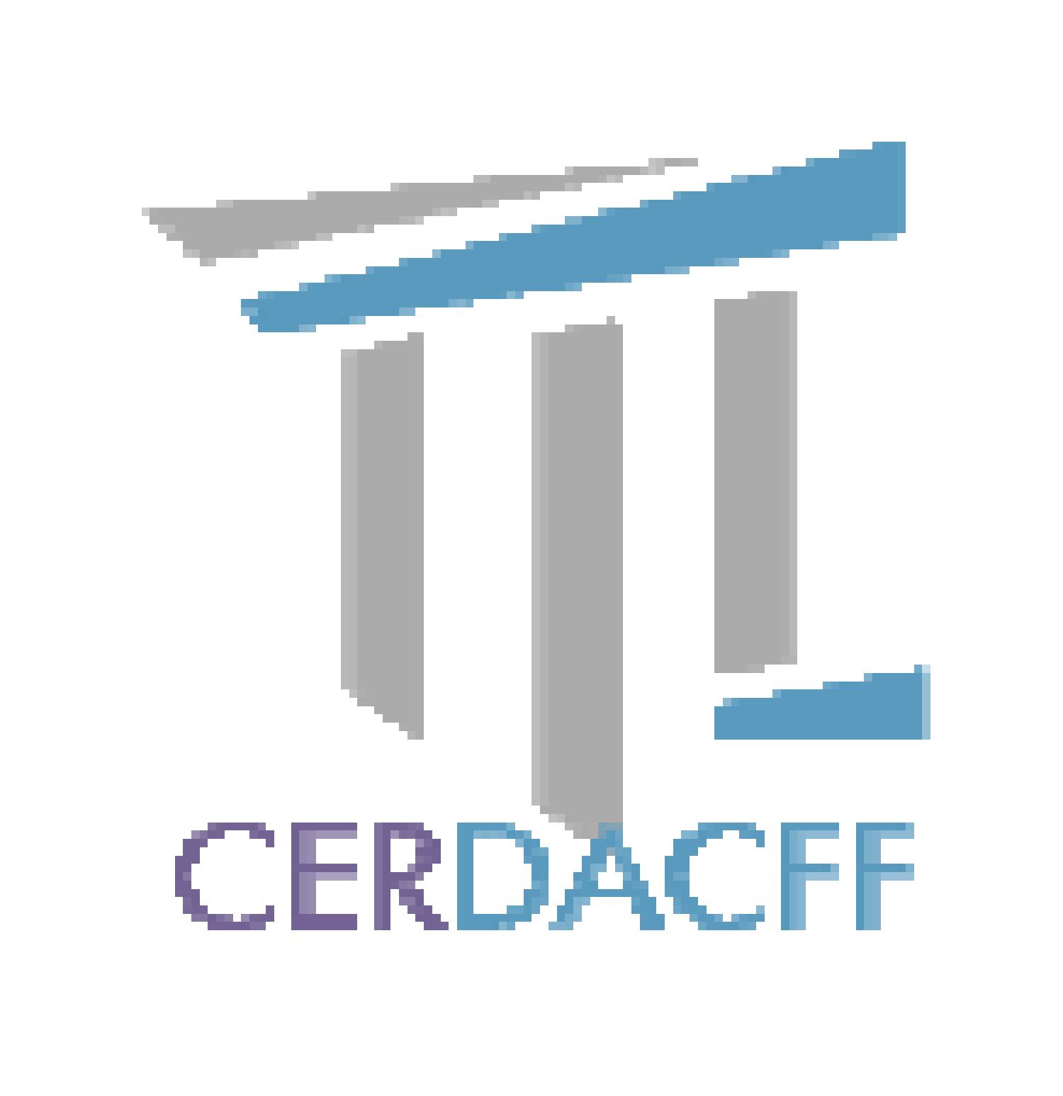 Logo Centre d'Etudes et de Recherche en Droit Administratif, Constitutionnel, Financier et Fiscal (CERDACFF)