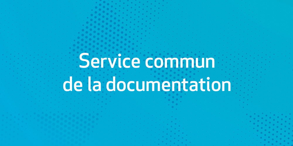 Service commun de la documentation