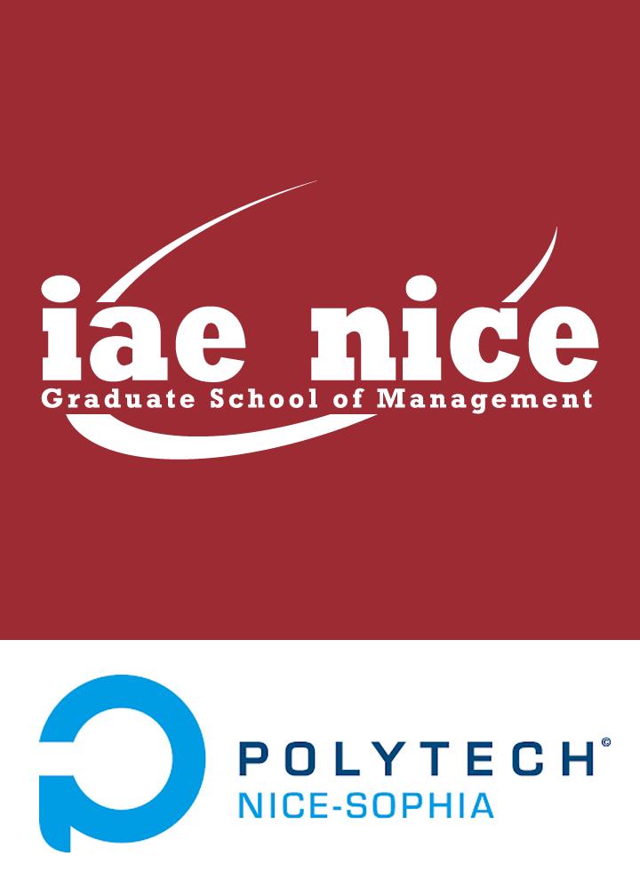 Logo IAE Nice Polytech