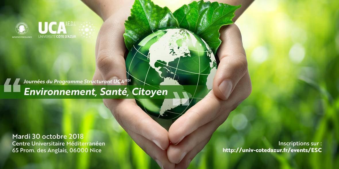 Flyer JA3 et PS Environnement Santé Citoyen du 30.10.2018
