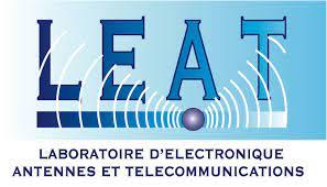 Logo du  Laboratoire d'Electronique, Antennes et Télécommunications - L.E.A.T.