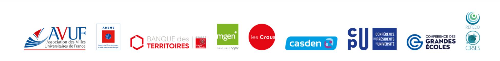 logo des organisations fondatrices du label Agir Ensemble