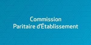 Commission Paritaire d'Etablissement