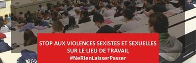 Campagne Zéro Tolérance, Mission Egalité Femmes · Hommes